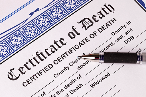 Mesothelioma Death Certificate